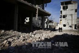 Syria: Giao tranh tái diễn tại Đông Ghouta ngay sau lệnh ngừng bắn