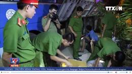 Ninh Thuận bắt xe khách chở nhiều hàng hóa không nguồn gốc xuất xứ