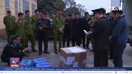 Phú Thọ tiêu hủy 300 bánh Heroin