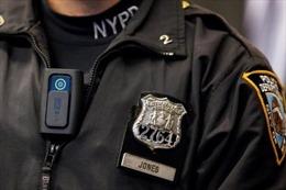 Mỹ trang bị máy quay trên người cho cảnh sát New York