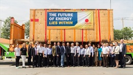 First Solar Việt Nam lắp đặt thiết bị đầu tiên phục vụ sản xuất tấm mô-đun Series 6
