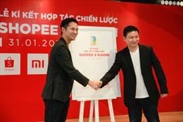 Shopee ký kết hợp tác chiến lược với Xiaomi