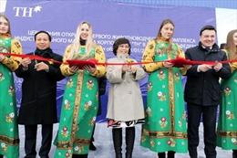 Tập đoàn TH khánh thành trang trại bò sữa cao sản công nghệ cao tại Nga