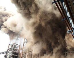 Nổ khí ga ở nhà máy thép, 9 người thiệt mạng