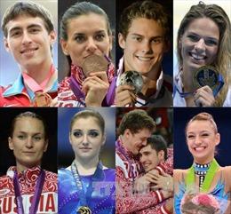 Nga giành lại 9 huy chương tại Olympic mùa Đông Sochi 2014