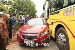 Tai nạn liên hoàn gây ùn tắc giao thông trên Quốc lộ 18A