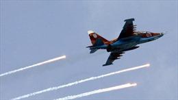 Xem cường kích Su-25 Nga 'né' mưa lửa của phiến quân Syria