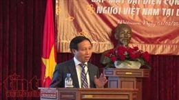 Tăng cường tình đoàn kết trong cộng đồng người Việt Nam tại Nga