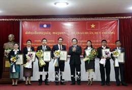 Trao Huân, Huy chương cho 17 cán bộ Ban Đối ngoại Trung ương Đảng NDCM Lào