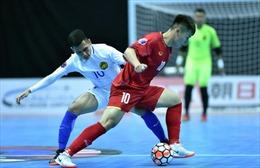Futsal Việt Nam quyết đấu Đài Bắc Trung Hoa