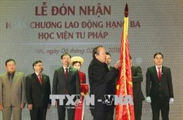 Phó Thủ tướng Trương Hòa Bình dự lễ kỷ niệm 20 năm thành lập Học viện Tư pháp