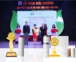 Nu Skin Việt Nam nhận 'Cúp Vàng vì Sức khỏe Cộng đồng'