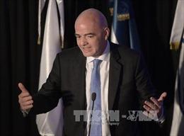 Chủ tịch FIFA sang thăm và làm việc tại Việt Nam vào ngày 8/2
