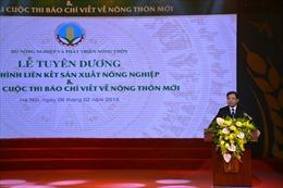 Cố nhà báo Đinh Hữu Dư của TTXVN được trao giải B viết về nông thôn mới