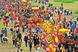 Đón Bằng công nhận Tục thờ Tản Viên Sơn Thánh là di sản văn hoá phi vật thể quốc gia