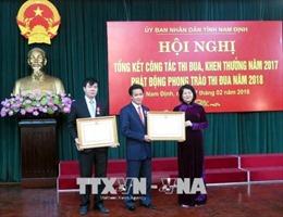 Phó Chủ tịch nước Đặng Thị Ngọc Thịnh: Gắn phong trào thi đua với việc làm thiết thực