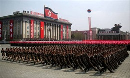 Triều Tiên diễu binh kỷ niệm 70 năm thành lập quân đội