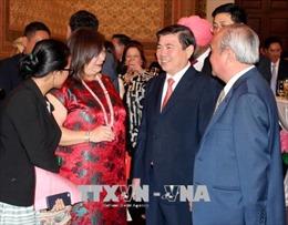 TP. Hồ Chí Minh gặp mặt các cơ quan đại diện nước ngoài