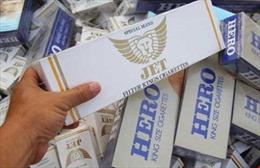 Cảnh sát biển bắt giữ tàu vận chuyển thuốc lá lậu