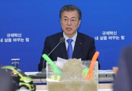 Tổng thống Hàn Quốc kêu gọi Mỹ hạ thấp yêu cầu để tiến hành đối thoại với Triều Tiên