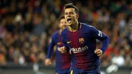 Xem tuyệt phẩm ra mắt Barcelona của 'bom tấn' Coutinho