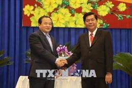 Tăng cường đoàn kết với các tỉnh giáp biên Campuchia