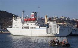 Triều Tiên rút lại đề nghị cung cấp nhiên liệu cho tàu Mangyongbong-92