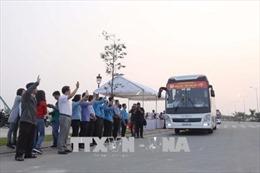 40 chuyến xe khởi hành đưa công nhân từ TP. Hồ Chí Minh về quê đón Tết