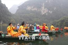 Quần thể danh thắng Tràng An có thêm tuyến đường thủy phục vụ du khách