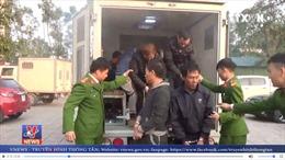 Bắt 12 đối tượng trốn truy nã tại các tỉnh phía Nam, Tây Nguyên