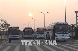 Bình Dương: Chuyến xe xuân nghĩa tình đưa 4.000 công nhân về quê đón Tết