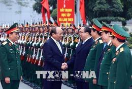 Thủ tướng: Tổ chức xây dựng lực lượng vũ trang Thủ đô vững mạnh toàn diện