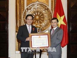 Đại sứ Trung Quốc tại Việt Nam nhận Huân chương Hữu nghị