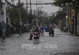 Cảnh báo mưa trái mùa và triều cường tại TP. Hồ Chí Minh dịp Tết