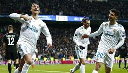 Cristiano Ronaldo lập cú đúp, Real Madrid hạ gục PSG ở trận lượt đi
