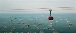 Những góc check-in siêu đẹp từ cáp treo vượt biển dài nhất thế giới tại Nam Phú Quốc