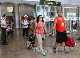 Đón những vị khách quốc tế 'xông đất' Đà Nẵng bằng đường hàng không