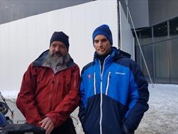 Olympic PyeongChang 2018: Cặp vợ chồng đạp xe 1 năm từ Thụy Sĩ đến Hàn Quốc cổ vũ con trai thi đấu
