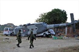 Mexico: Hơn 10 người thiệt mạng trong vụ rơi trực thăng chở Bộ trưởng Nội vụ