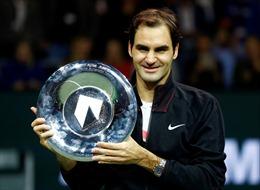 Roger Federer với số 1 và số 97 ấn tượng