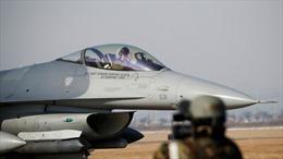 Cháy động cơ, F-16 Mỹ xả vội nhiên liệu xuống hồ, thoát về căn cứ tại Nhật