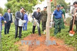 Phó Chủ tịch Quốc hội Đỗ Bá Tỵ tham dự Tết trồng cây tại Lào Cai