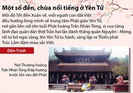 Một số đền, chùa nổi tiếng ở Yên Tử