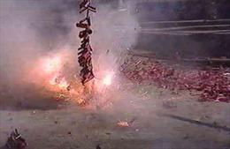 Xử lý 208 vụ đốt pháo trái phép ở Đắk Lắk