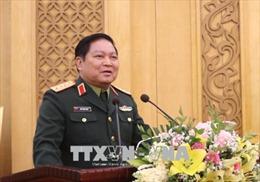Đại tướng Ngô Xuân Lịch làm việc với Tổng cục Chính trị và Tổng cục Hậu cần