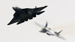 Video siêu phẩm SU-57 của Nga quần đảo trên bầu trời Syria