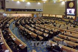 Quốc hội Thái Lan bác bỏ tất cả đề cử thành viên Ủy ban bầu cử mới