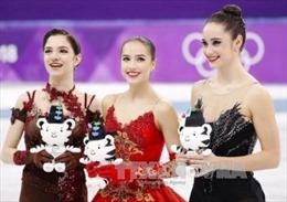 Olympic Pyeongchang 2018: VĐV Nga đoạt HCV môn trượt băng nghệ thuật nữ