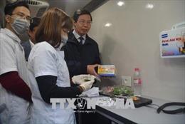 Dịch vụ ăn uống tại chùa Hương đạt 70% tiêu chuẩn an toàn thực phẩm