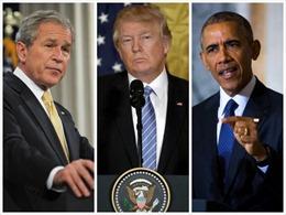 Tổng thống Trump chê trách hai người tiền nhiệm Bush và Obama